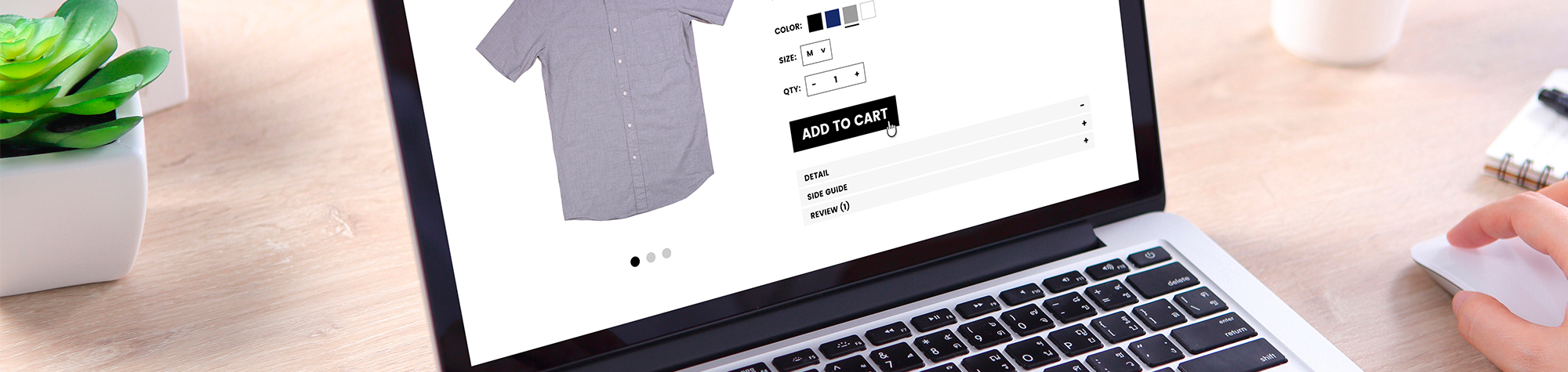 Duplication of contents in an eCommerce