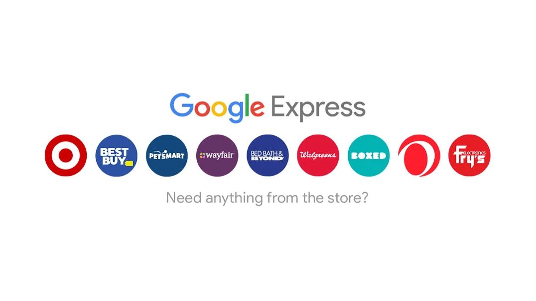 Google Express tiendas