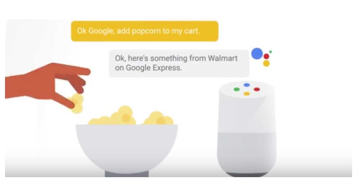 Google Express Google Home