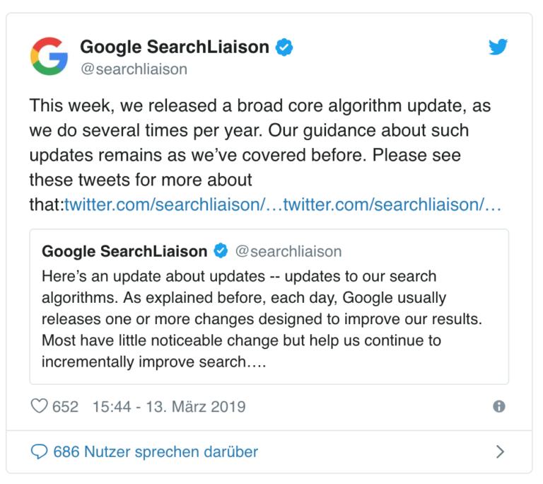 Todo sobre la primera actualización del año del algoritmo de Google