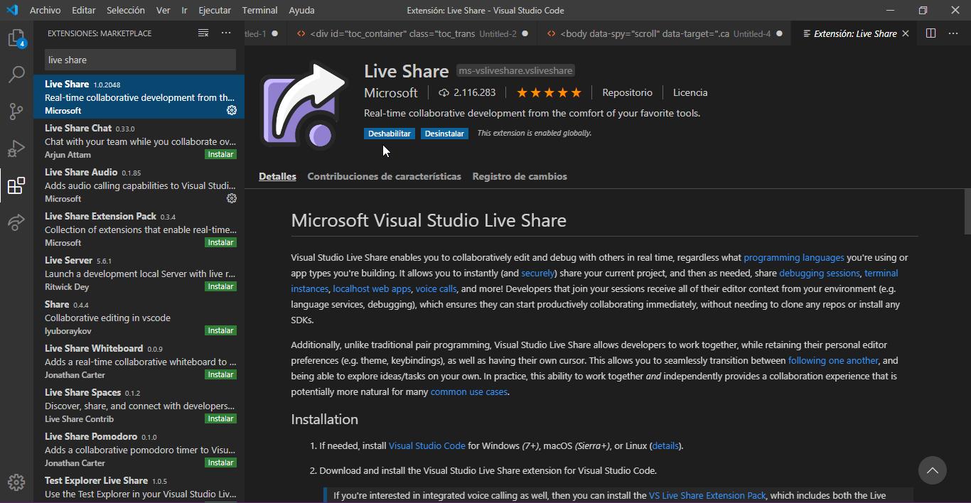 instalar-live-share