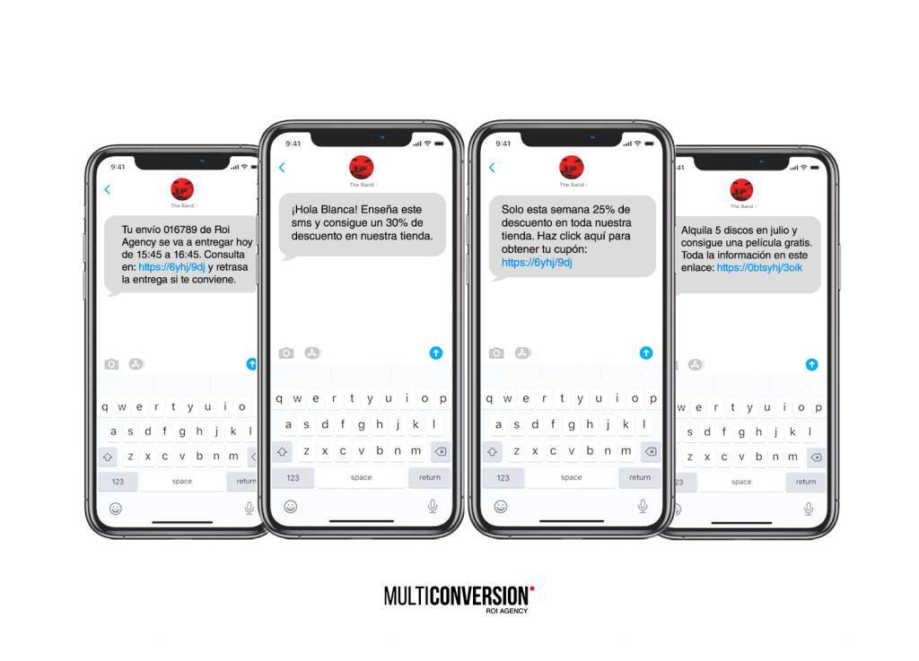 mensajes de texto masivos